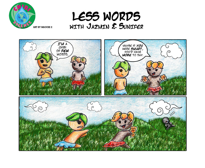 Less Words