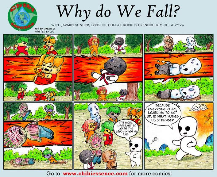 Why Do We Fall?