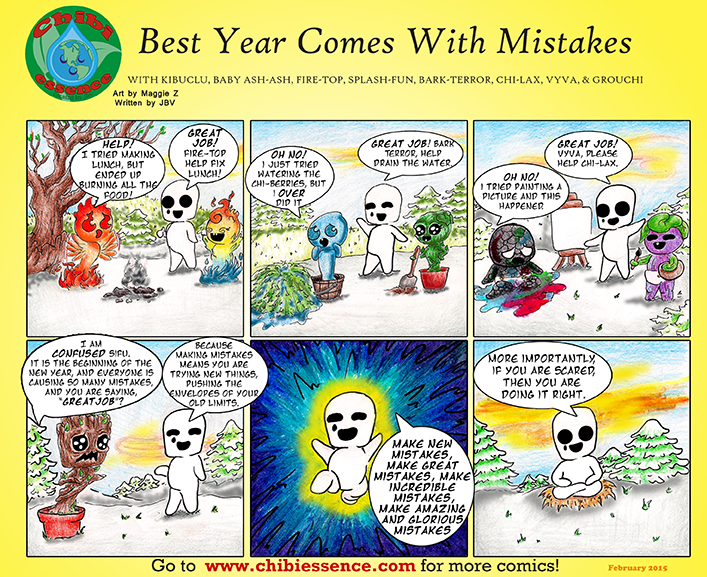 Best Year Comes with Mistakes